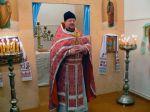Божественная Литургия в храме во имя Святителя Николая Мирликийского в селе Лопатни Клинцовского рай - увеличить