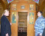 В Храме Святой Анастасии Узорешительницы. - увеличить