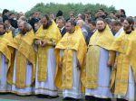 Первое Патриаршее служение в Свенском монастыре Брянской Епархии - увеличить