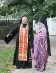 Беседа со Святителем на месте строительства Храма Святого Александра Невского. - увеличить