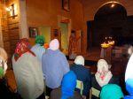 Божественная Литургия в храме во имя Святителя Василия Великого в селе Уношево Гордеевского района - увеличить