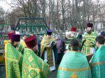 Молебен в день празднования памяти Св. благоверного князя Александра Невского. - увеличить