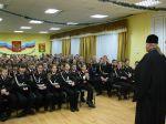 Беседа в кадетской школе-интернате перед новогодними каникулами - увеличить