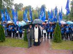 Молебен у памятника Героям Отечества - увеличить