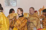 Престольный праздник в Храме святого Благоверного князя Александра Невского. - увеличить