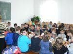 Сладкий стол на праздник Покрова Пресвятой Богородицы в воскресной школе храма Петра и Павла.  - увеличить