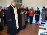 Молебен с акафистом в восстанавливаемом Храме Святителя Николая с. Лопатни - увеличить