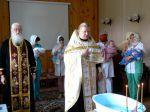 Таинство Крещения в Доме ребенка г. Клинцы - увеличить