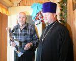 Поздравление ветеранов с Днем освобождения города Клинцы  - увеличить