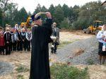 Молебен на основание храма в с. Смотрова Буда - увеличить