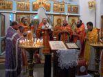 Богослужение на отдание праздника Рождества Пресвятой Богородицы в с. Гордеевка. - увеличить