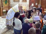 Крещение детей из социального приюта. - увеличить