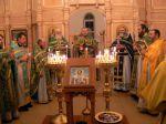 Божественная литургия в день празднования памяти Св. благоверного князя Александра Невского. - увеличить
