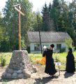 Крест воздвизается днесь