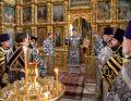 Епископ Владимир совершил первую в этом году Литургию Преждеосвященных Даров