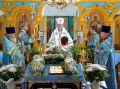 Архиерейское богослужение в храме с. Коржовка